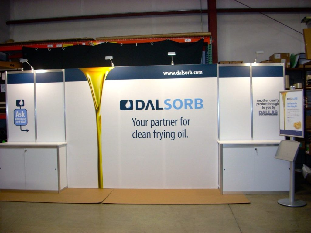 20 Ft In-Line Trade Show Display 4