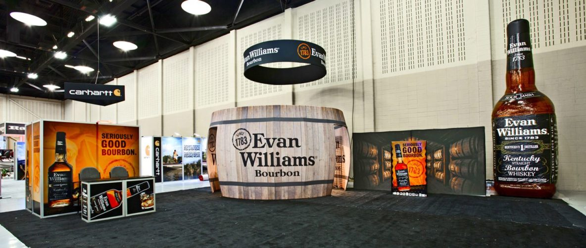 40 X 40 & Larger Trade Show Displays